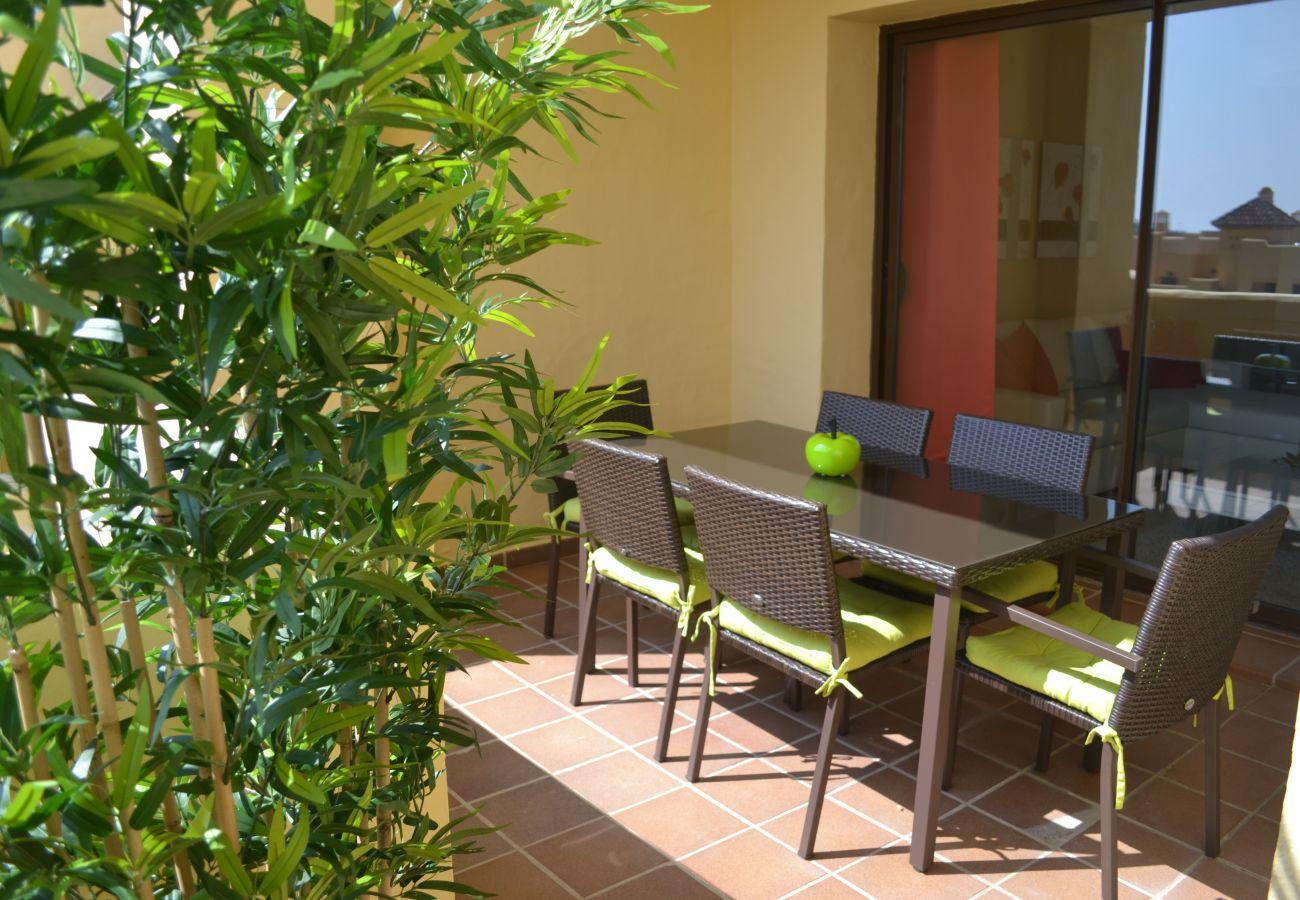 ZapHoliday - 2115 - Apartmentvermietung in Manilva, Costa del Sol - Terrasse