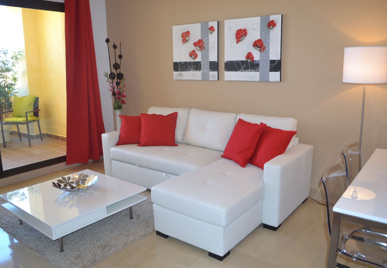 ZapHoliday - 2115 - Apartmentvermietung in Manilva, Costa del Sol - Wohnzimmer