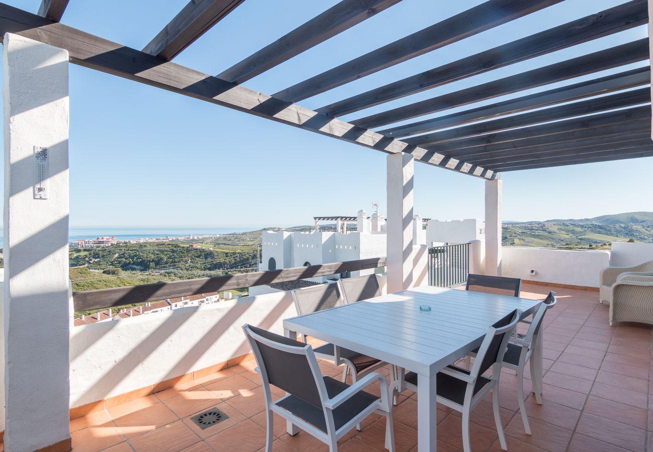 Zapholiday - 2186 - Mietwohnungen Casares - terrasse
