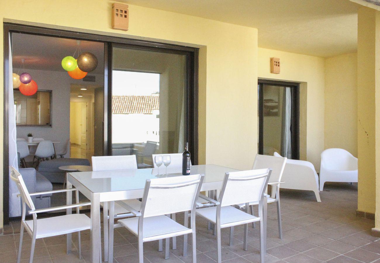 Zapholiday - 2181 - Mietwohnung Manilva-Terrasse
