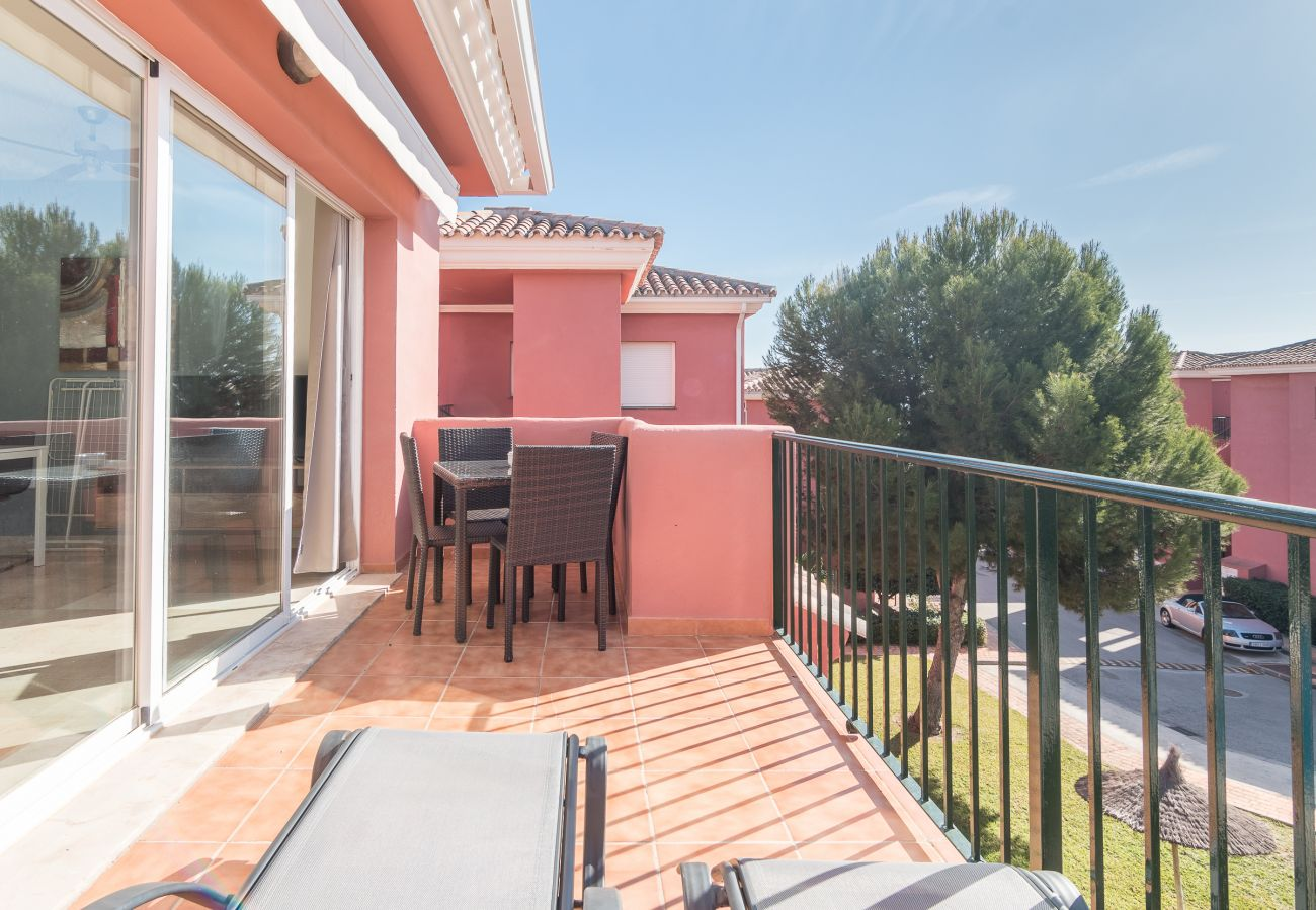 Zapholiday - 2228 - Manilva Apartmentvermietung - Terrasse