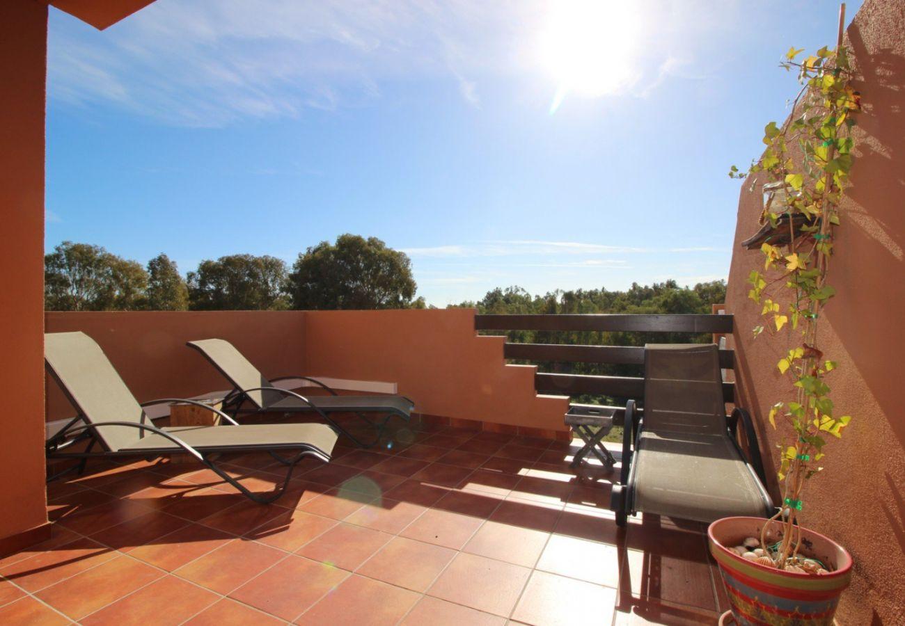 Zapholiday - 2231 - Casares Apartmentvermietung - Terrasse
