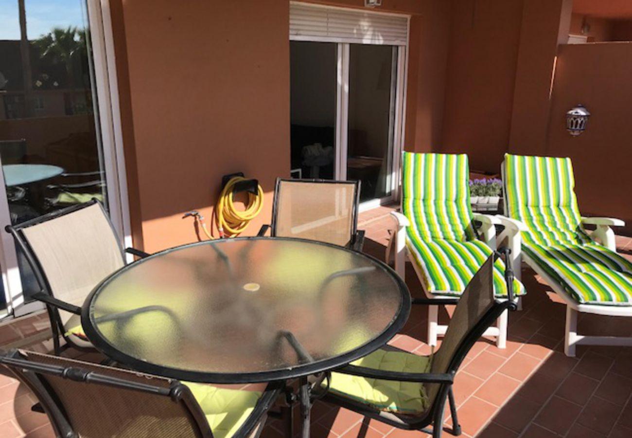Zapholiday - 2236 - Casares Apartmentvermietung - Terrasse