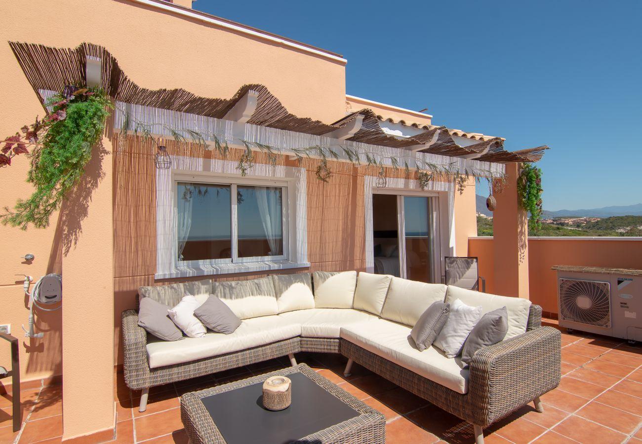 Zapholiday - 2242 - Casares Apartmentvermietung - Terrasse