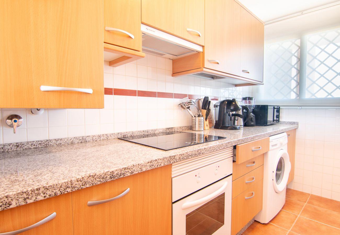 Zapholiday - 2243- Apartmentvermietung in Manilva - Küche