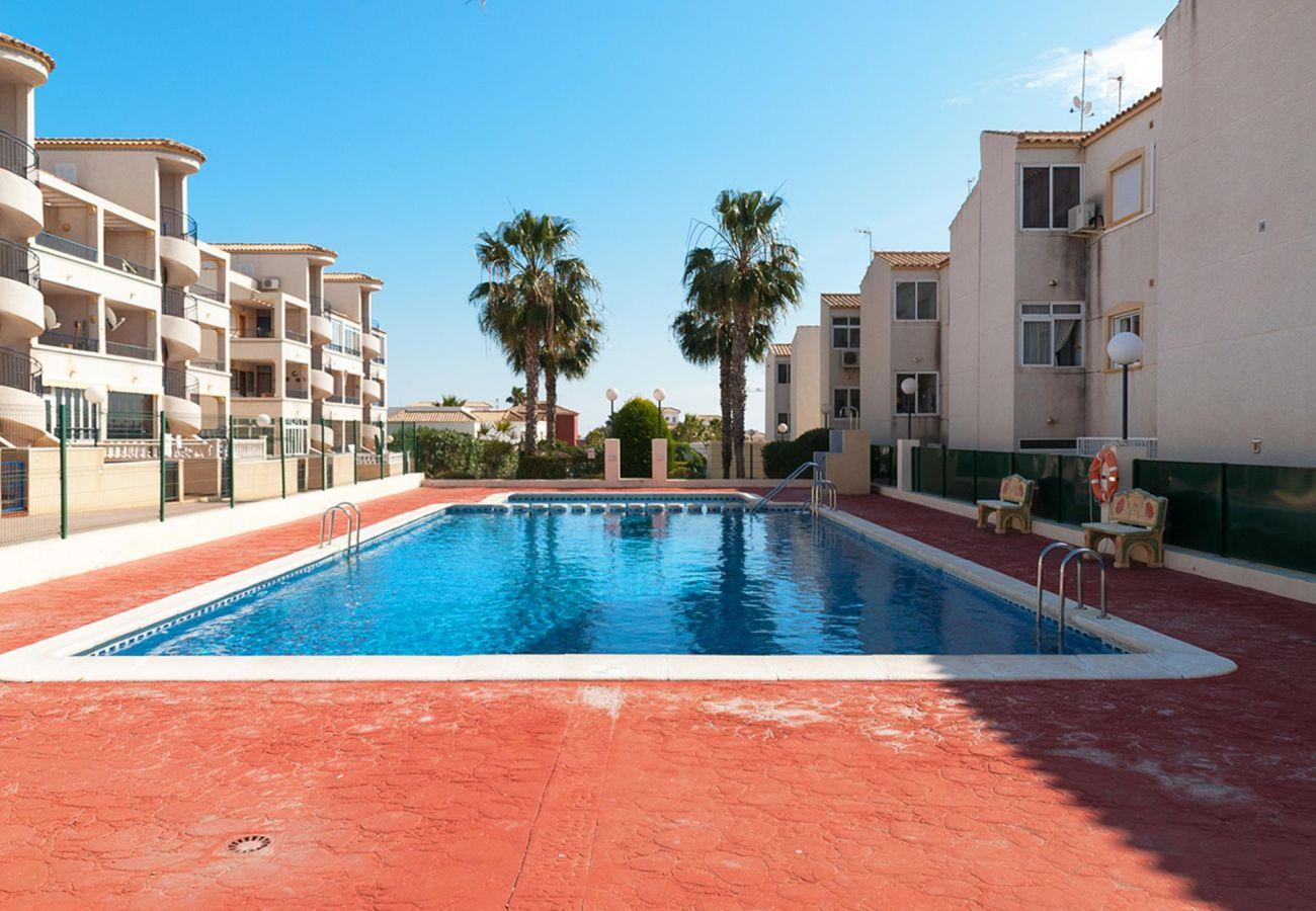 Zapholiday - 3001 - Orihuela Costa Wohnung, Costa Blanca - Schwimmbad