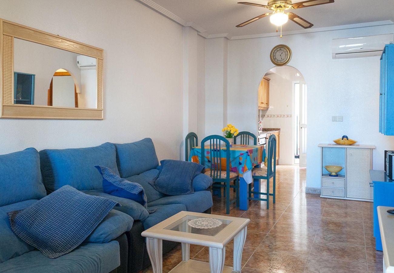 Zapholiday - 3001 - Orihuela Costa - Apartmentvermietung - Wohnzimmer