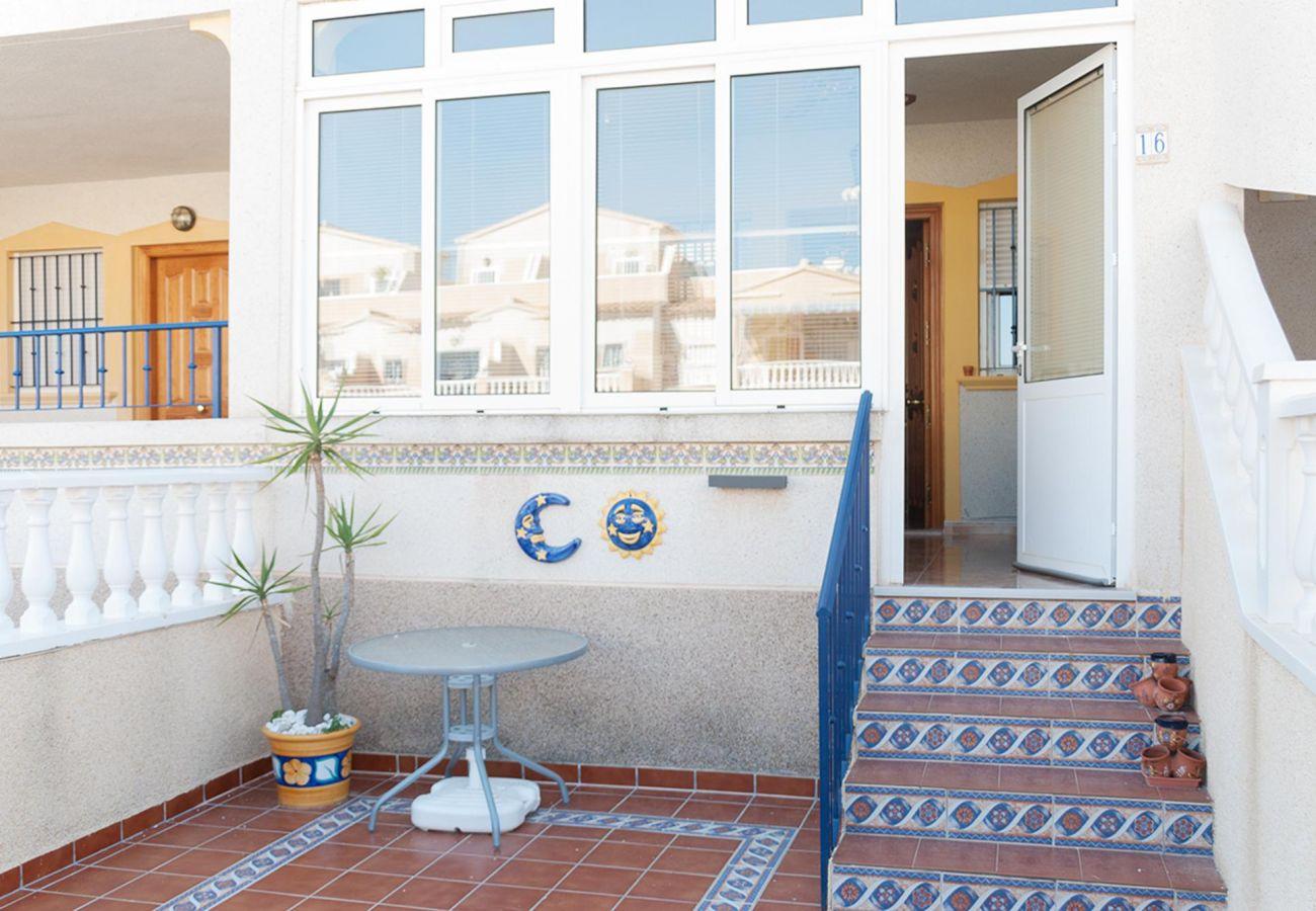 Zapholiday - 3001- Mietwohnung Orihuela Costa - Terrasse