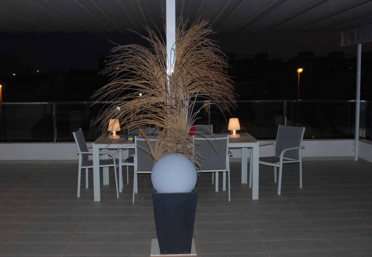 Zapholiday  -  3011    - Orihuela Costa Wohnung, Costa Blanca  –  Terrasse