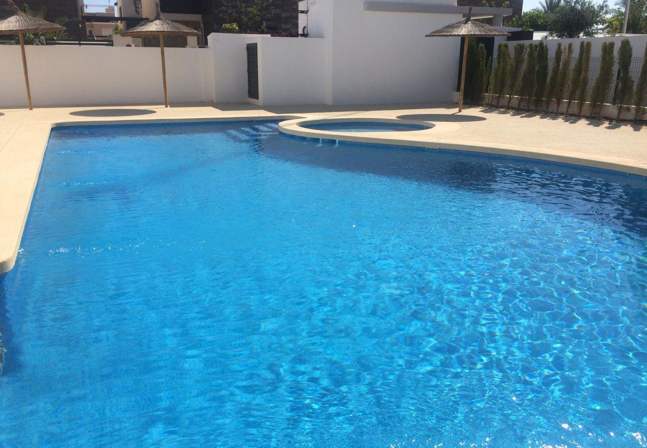 Zapholiday - 3020 - Wohnung Torre de la Horadada, Costa Blanca - Schwimmbad