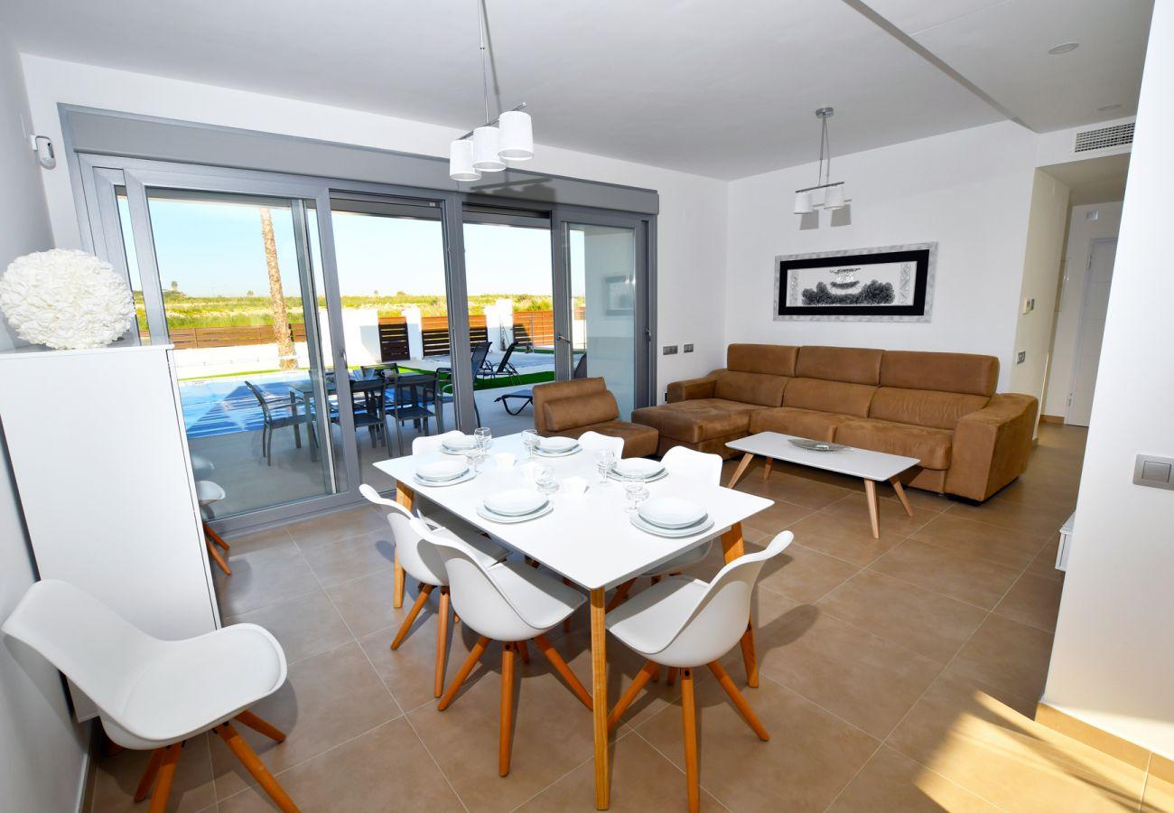 Zapholiday - 3021 - Villa Orihuela, Alicante - Wohnzimmer