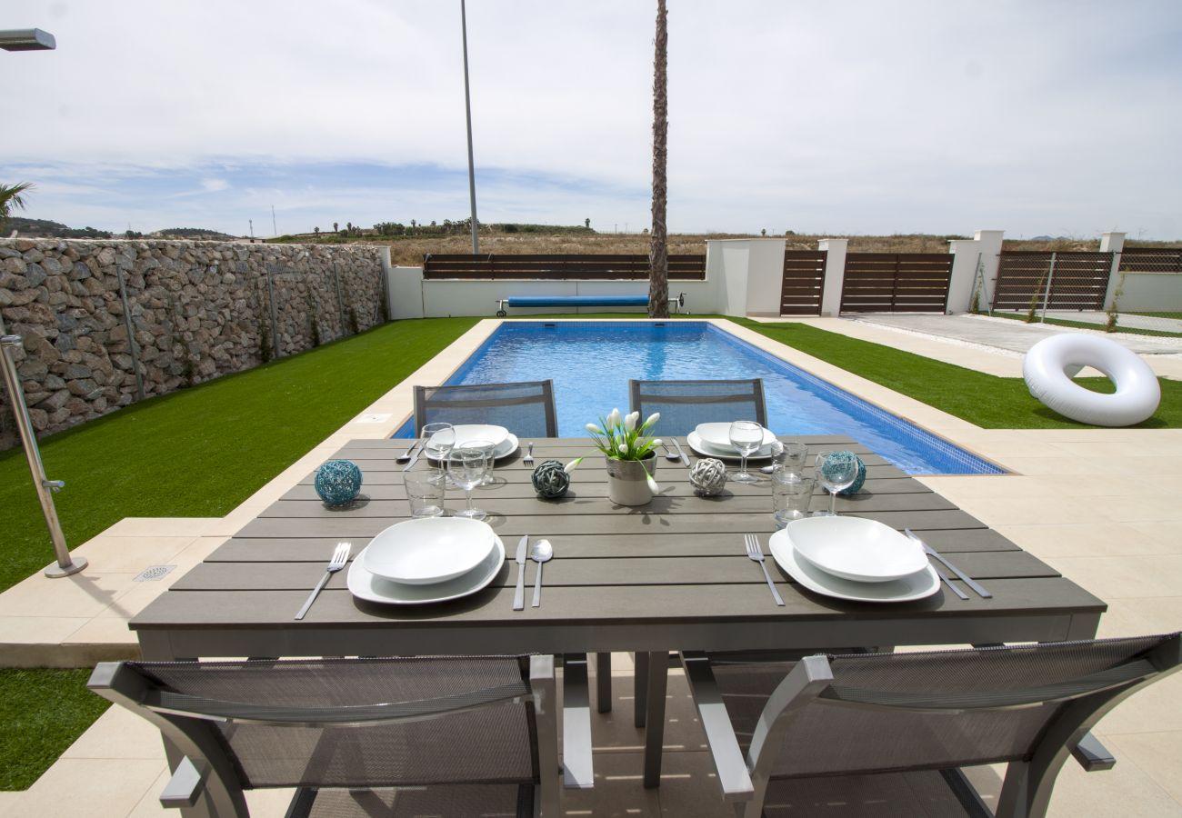 Zapholiday - 3021 - Villa Orihuela, Alicante - Terrasse