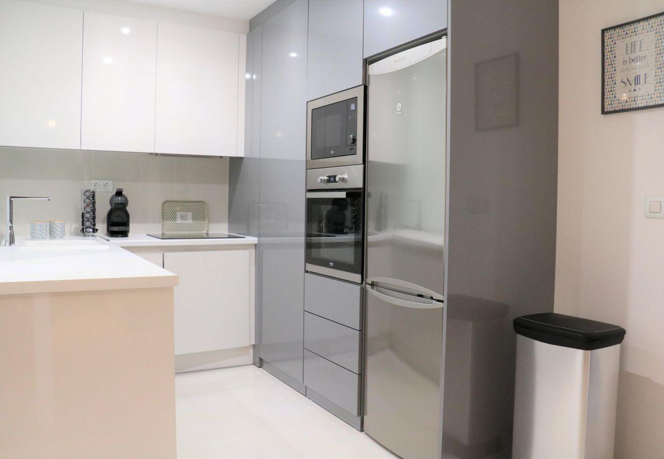 Zapholiday - 3022 - Mil Palmeras Wohnung, Costa Blanca - Küche