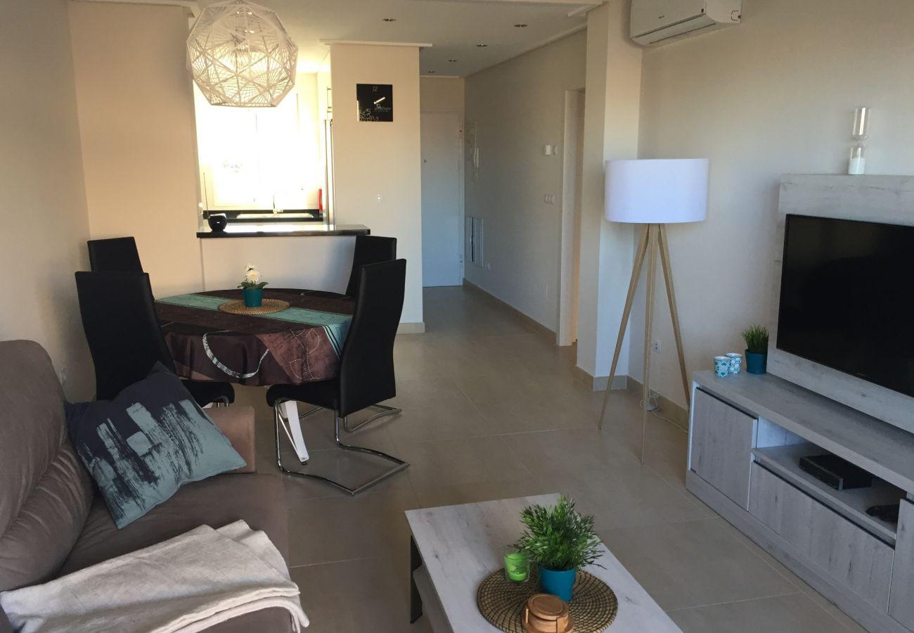 Zapholiday - 3027 - Wohnung Torre de la Horadada, Costa Blanca - Wohnzimmer