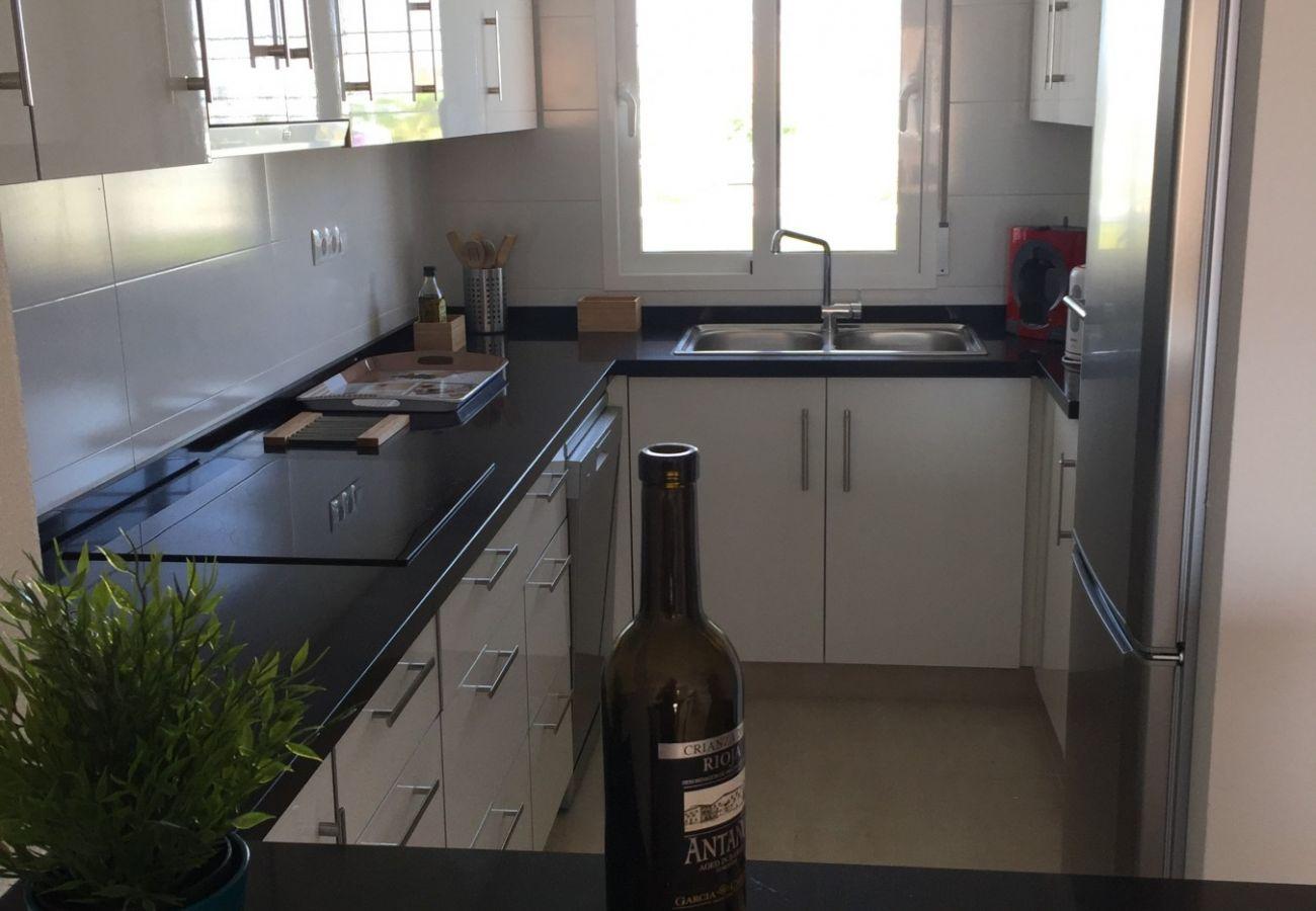 Zapholiday - 3027 - Wohnung Torre de la Horadada, Costa Blanca - Küche