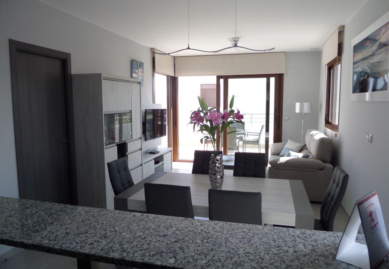 Zapholiday - 3029 - Orihuela Costa Penthouse, Costa Blanca - Wohnzimmer