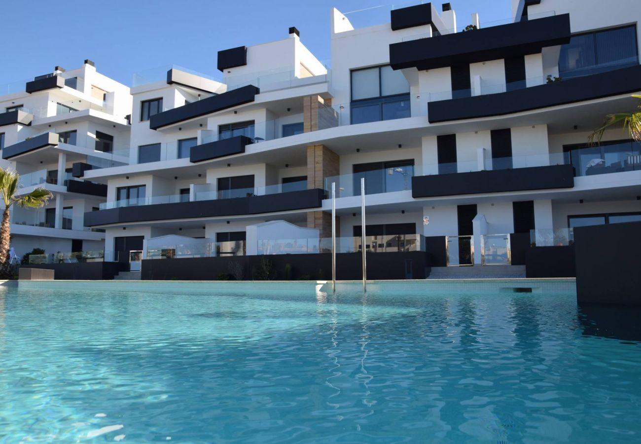 Zapholiday - 3055 - Wohnung Orihuela Costa, Costa Blanca - Schwimmbad