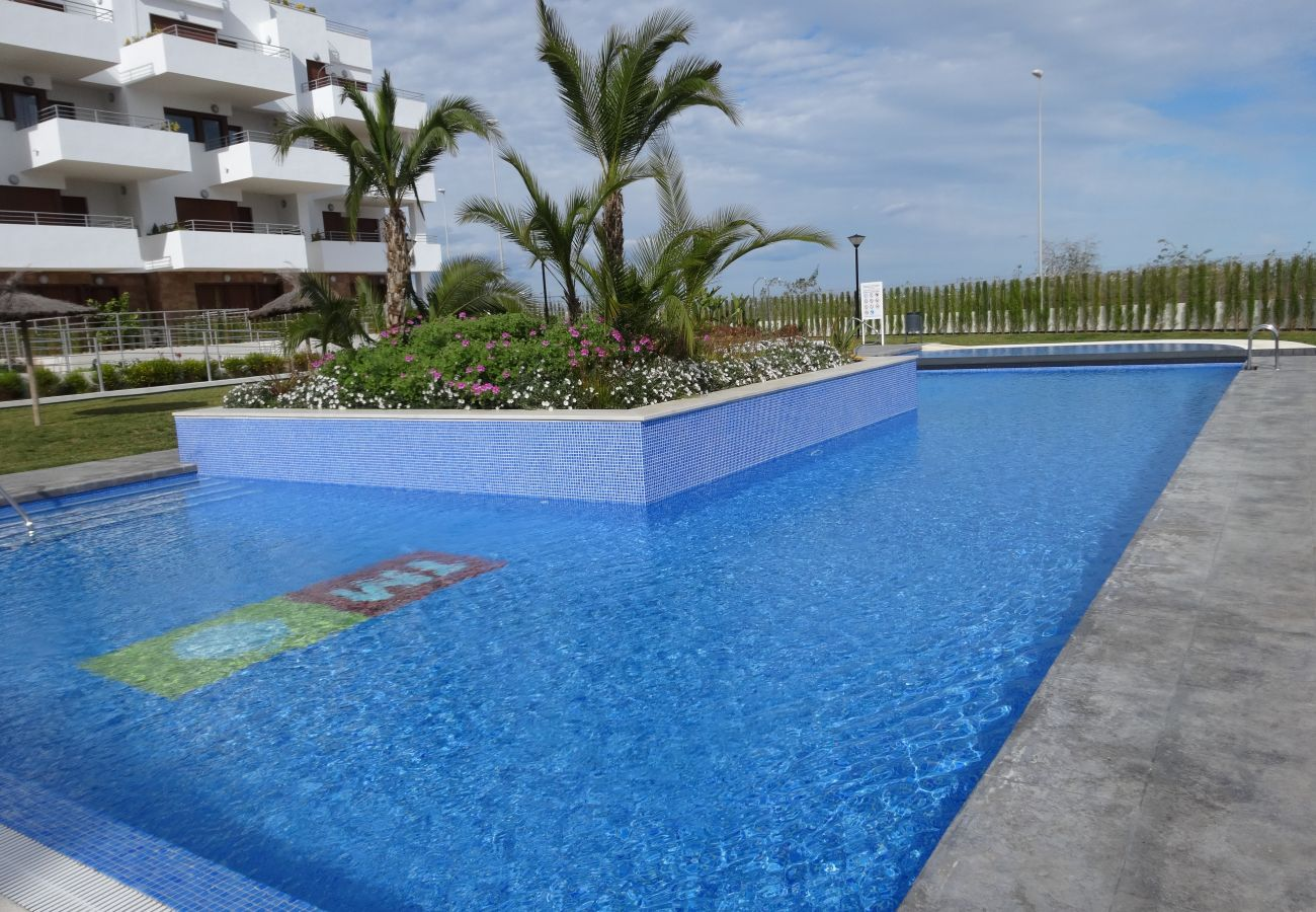Zapholiday - 3056 - Wohnung Terrazas de Campoamor, Costa Blanca - Schwimmbad