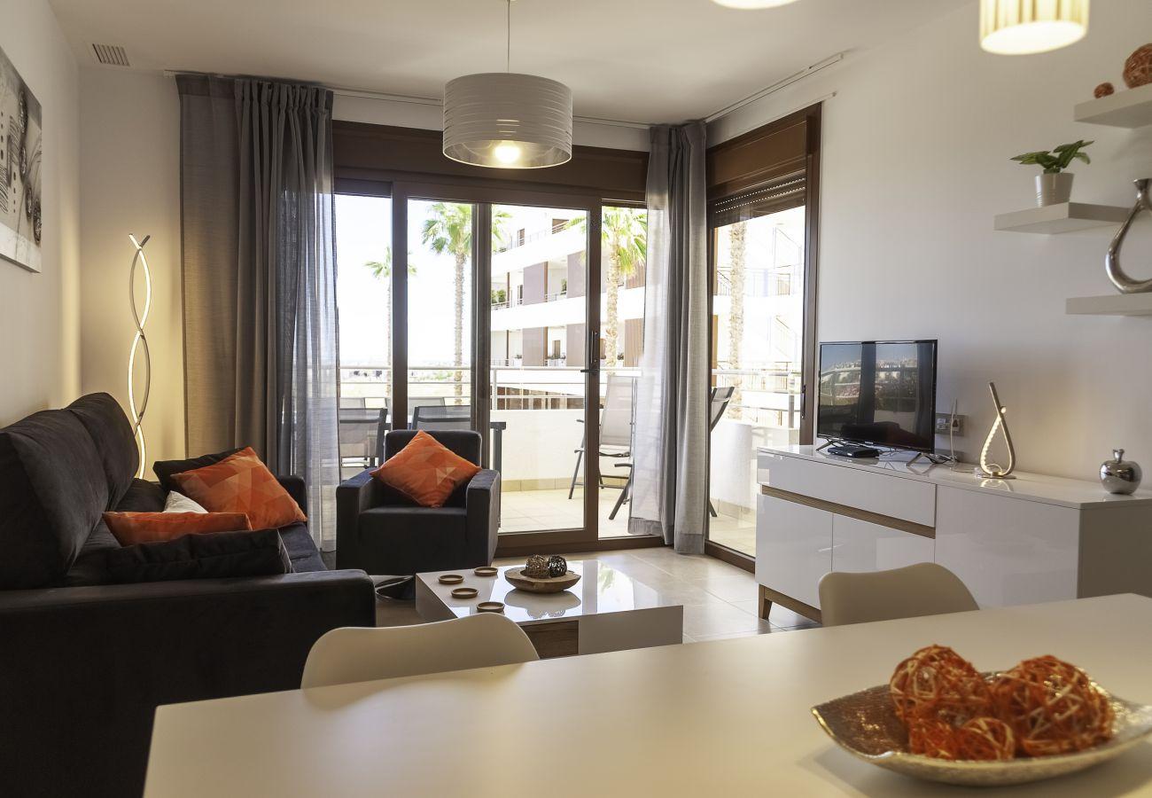 Zapholiday - 3056 - Wohnung Terrazas de Campoamor, Costa Blanca - Wohnzimmer