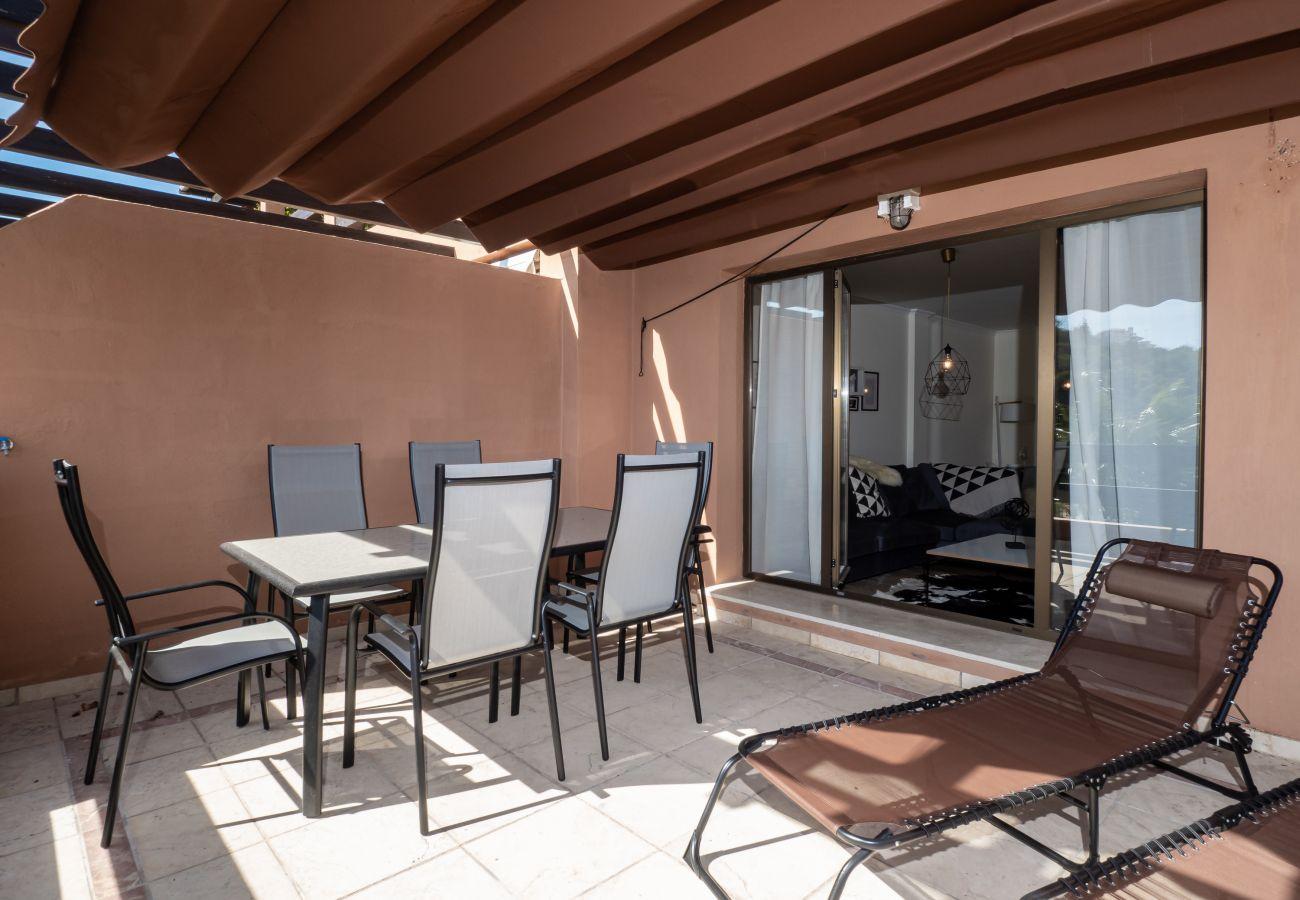 Zapholiday - 2297 - Casares Wohnung, Costa del Sol - Terrasse